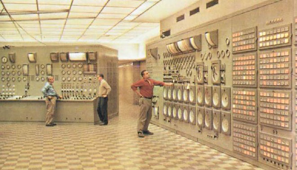 Indian Point Heritage Project Control Room
